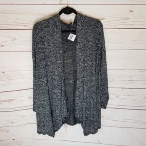 🎈Final Sale🎈Hooded Charcoal Grey Cardigan